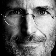 Close Up of Steve Jobs